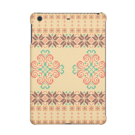Christmas knitted pattern iPad mini retina case
