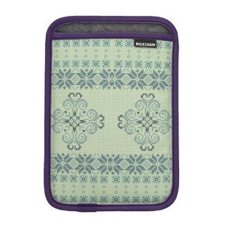 Christmas knitted pattern iPad mini sleeve