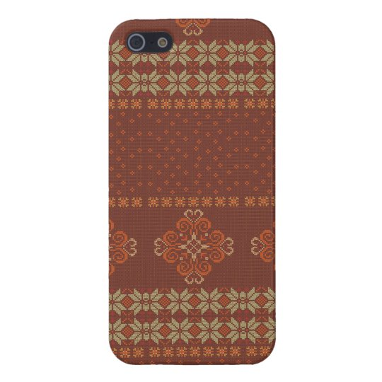 Christmas knitted pattern iPhone 5/5S case