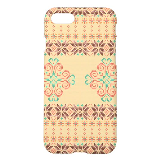 Christmas knitted pattern iPhone 8/7 case