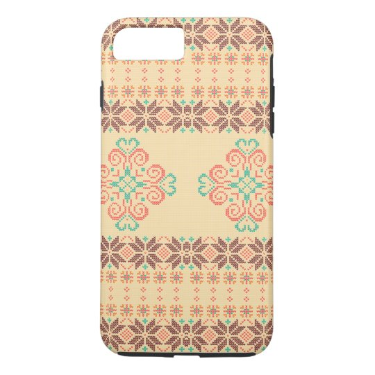Christmas knitted pattern iPhone 8 plus/7 plus case
