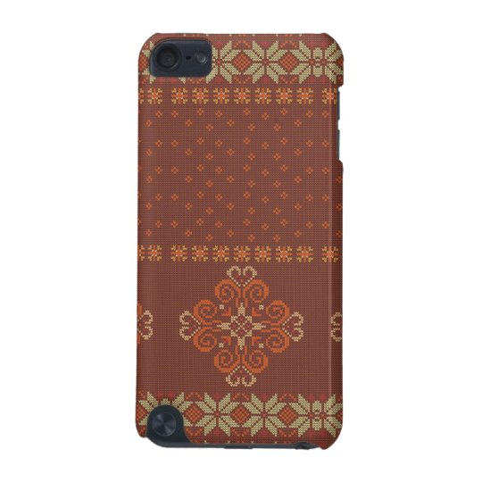 Christmas knitted pattern iPod touch (5th generation) case