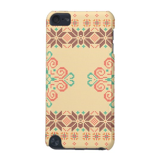 Christmas knitted pattern iPod touch (5th generation) covers