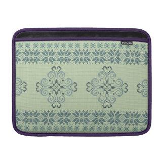 Christmas knitted pattern MacBook sleeve