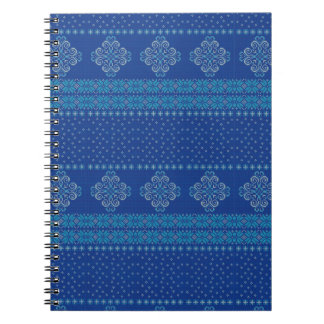 Christmas knitted pattern notebooks