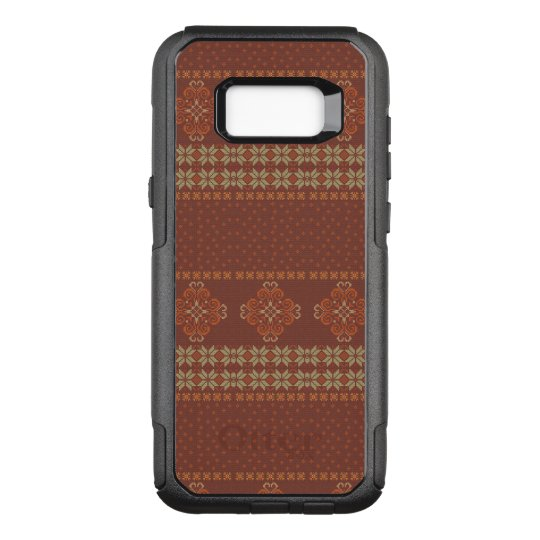 Christmas knitted pattern OtterBox commuter samsung galaxy s8+ case