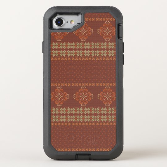 Christmas knitted pattern OtterBox defender iPhone 8/7 case