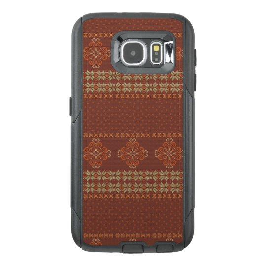 Christmas knitted pattern OtterBox samsung galaxy s6 case