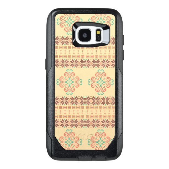 Christmas knitted pattern OtterBox samsung galaxy s7 edge case