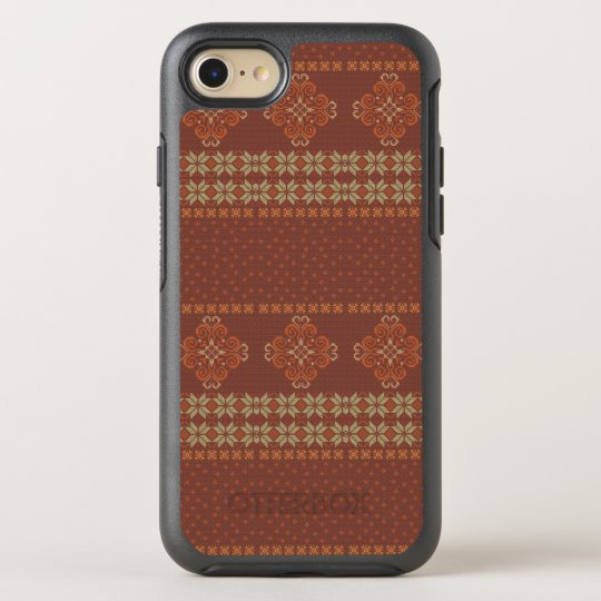 Christmas knitted pattern OtterBox symmetry iPhone 8/7 case