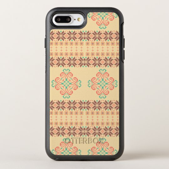 Christmas knitted pattern OtterBox symmetry iPhone 8 plus/7 plus case
