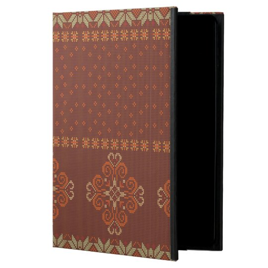 Christmas knitted pattern powis iPad air 2 case