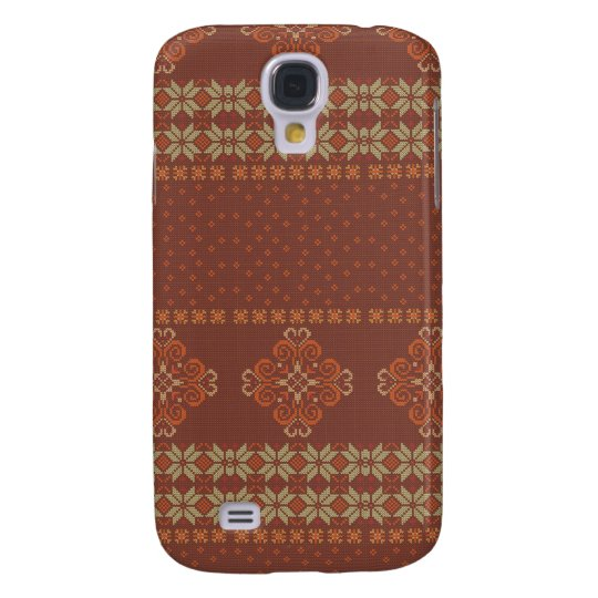 Christmas knitted pattern samsung galaxy s4 cover