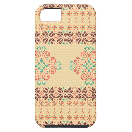 Christmas knitted pattern tough iPhone 5 case