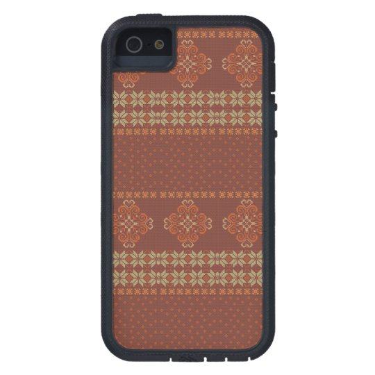 Christmas knitted pattern tough xtreme iPhone 5 case