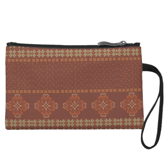 Christmas knitted pattern wristlet