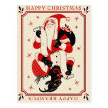 Christmas Krampus Card - List Postcard
