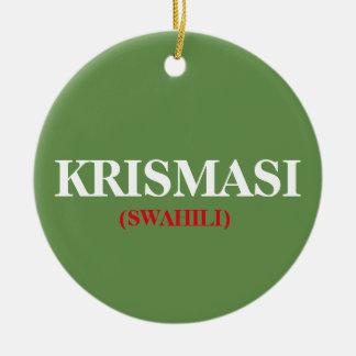 Christmas Krismasi African Christmas Ornament