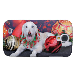 Christmas - LabraDoodle - Izzy Samsung Galaxy S4 Covers