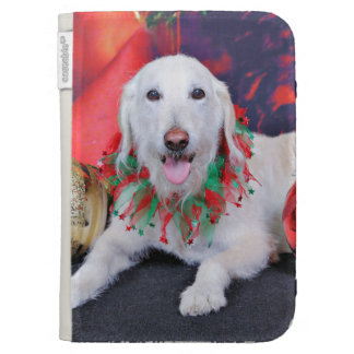 Christmas - LabraDoodle - Izzy Cases For The Kindle