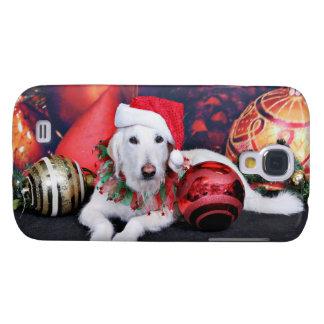 Christmas - LabraDoodle - Izzy Samsung Galaxy S4 Case