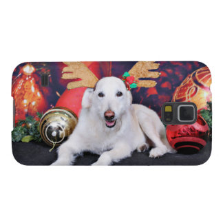 Christmas - LabraDoodle - Izzy Case For Galaxy S5