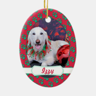 Christmas - LabraDoodle - Izzy Christmas Ornaments
