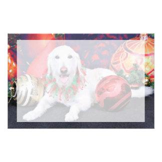Christmas - LabraDoodle - Izzy Custom Stationery