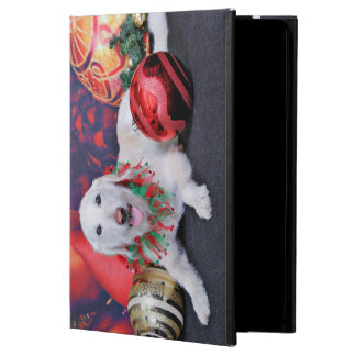 Christmas - LabraDoodle - Izzy iPad Air Cases