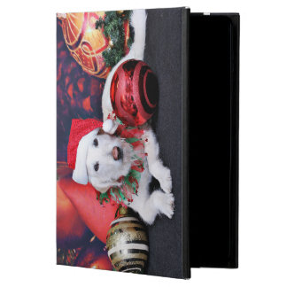 Christmas - LabraDoodle - Izzy iPad Air Cover