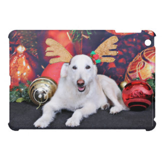 Christmas - LabraDoodle - Izzy iPad Mini Case