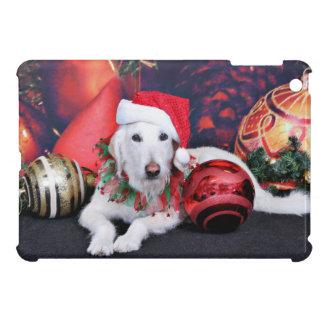 Christmas - LabraDoodle - Izzy iPad Mini Cover