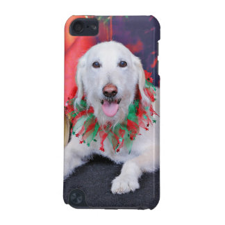 Christmas - LabraDoodle - Izzy iPod Touch 5G Cover