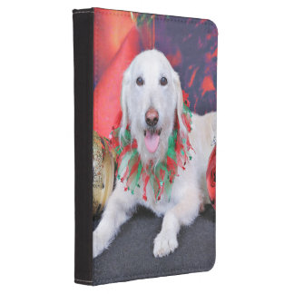 Christmas - LabraDoodle - Izzy Kindle Touch Cover