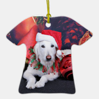 Christmas - LabraDoodle - Izzy Ornament