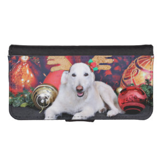 Christmas - LabraDoodle - Izzy Phone Wallets