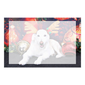 Christmas - LabraDoodle - Izzy Customized Stationery