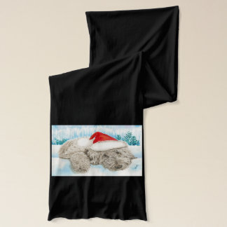 Christmas Labradoodle Scarf