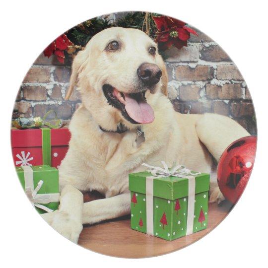 Christmas - Labrador - Ally Plate