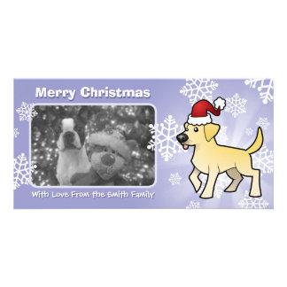 Christmas Labrador Retriever Photo Card
