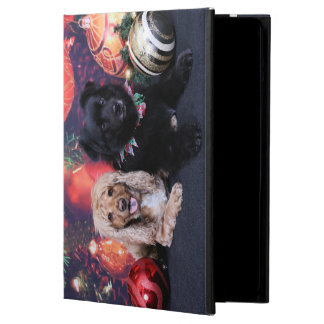 Christmas - Labrador X Cheyanne Cocker X Sundanc Cover For iPad Air