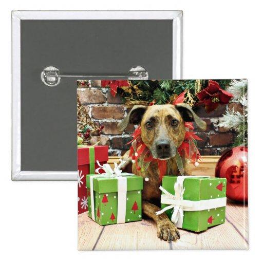 Christmas - Labrador X - Guiness Pinback Buttons