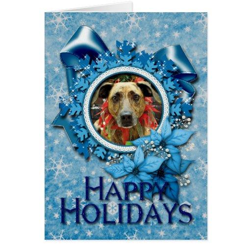 Christmas - Labrador X - Guiness Greeting Card
