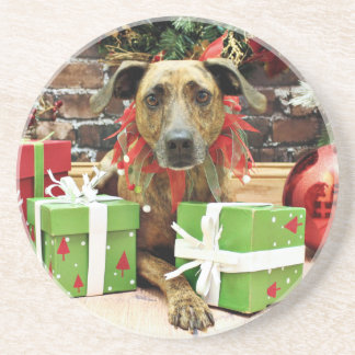 Christmas - Labrador X - Guiness Beverage Coasters