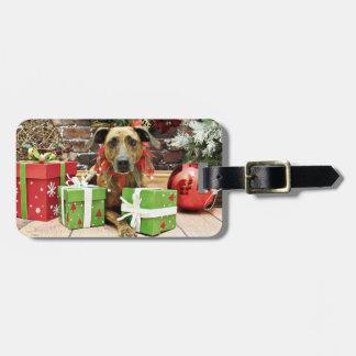 Christmas - Labrador X - Guiness Bag Tag