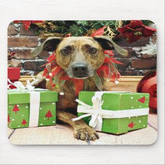 Christmas - Labrador X - Guiness Mouse Pad