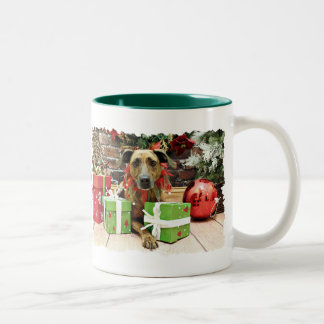 Christmas - Labrador X - Guiness Mug