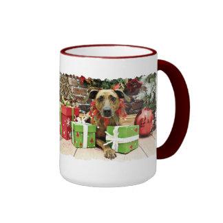 Christmas - Labrador X - Guiness Coffee Mug