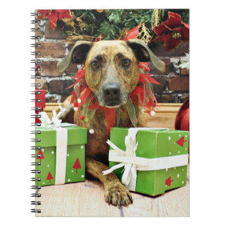 Christmas - Labrador X - Guiness Spiral Note Book