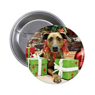 Christmas - Labrador X - Guiness Pin